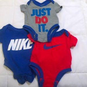 Baby boy bodysuits 3 pack